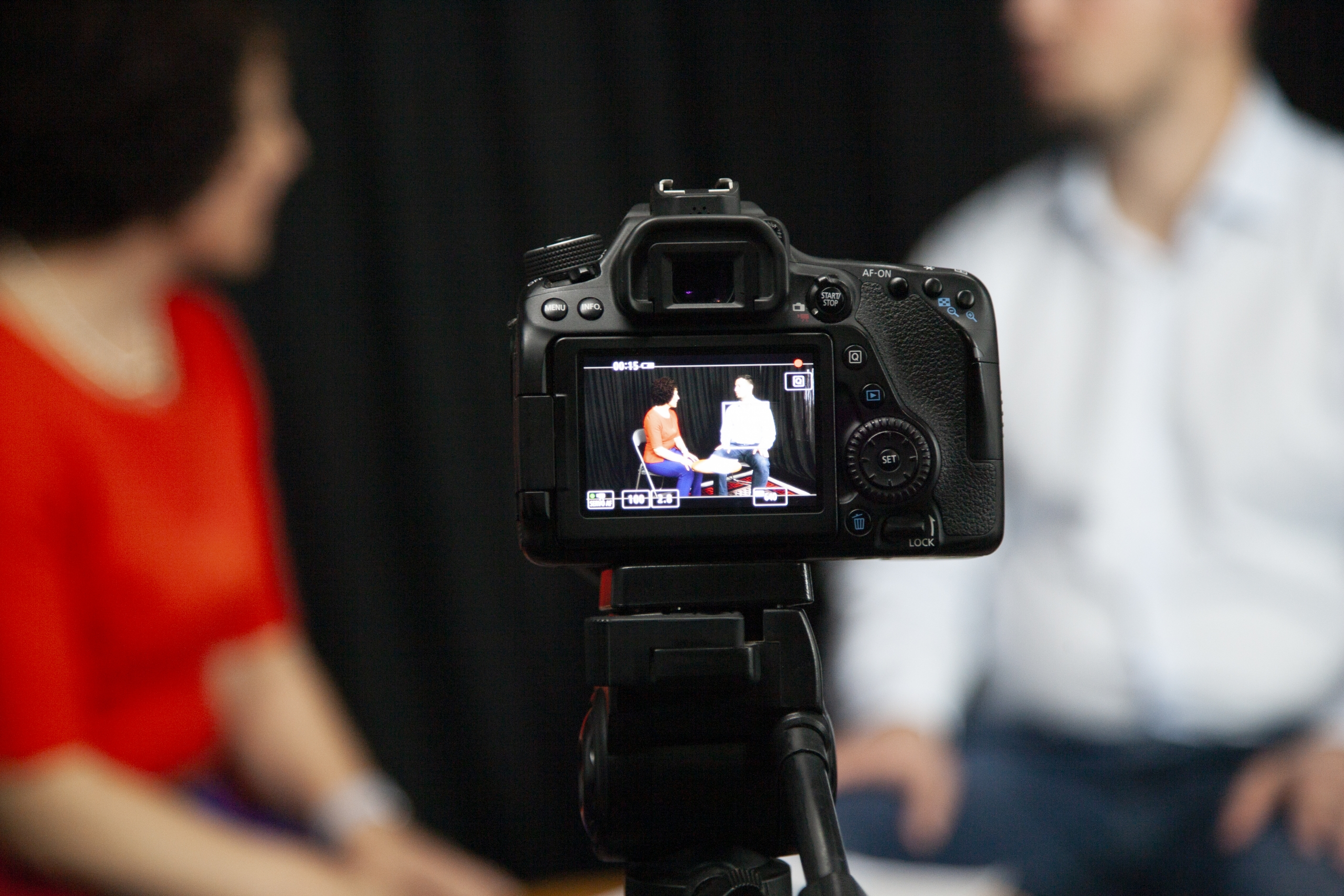 Coaching Session filmed in camera Generative Intelligence